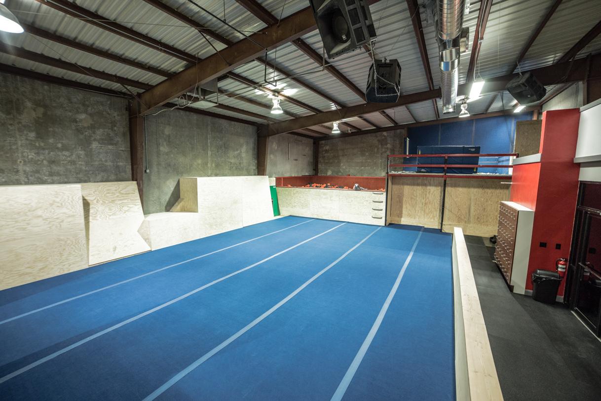gymnastics springfloor